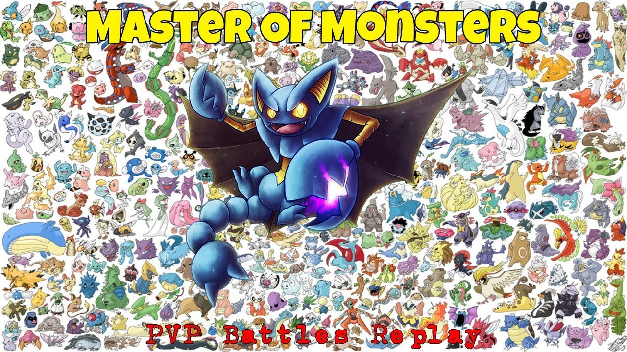 Master Of Monsters - Amazing PVP Replay 121 0 || New MEGA UPDATE !!