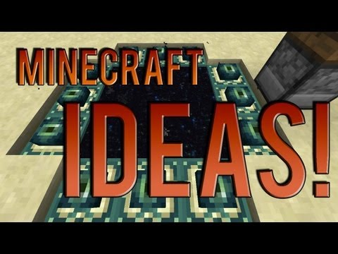 How to craft an end portal frame in minecraft pe
