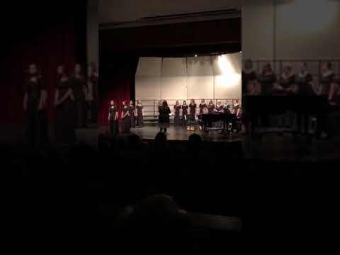 """Andale High School Chamber Singers """"Cover Me With The Night"""""""