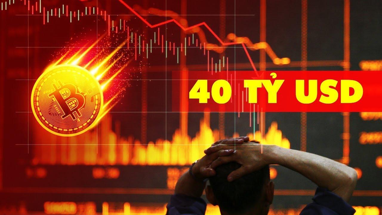 Bitcoin Lao Dốc, 40 Tỷ USD 'Bay Hơi'