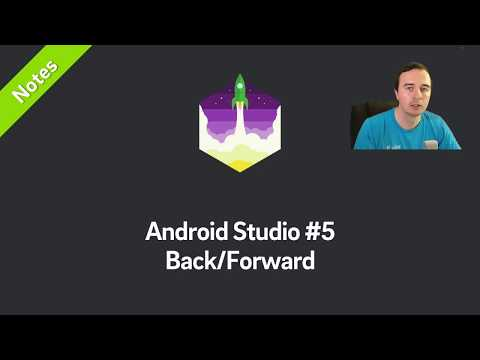 Android Studio Shortcut: Back & Forward