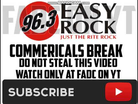 (DWRK-FM) 96.3 EASY ROCK COMMERICAL BREAK
