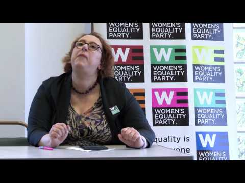 Women's Equality Party: Kirstein Rummery Campaign Speech