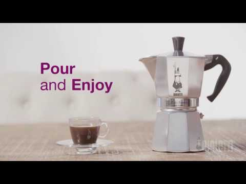 Cafetera Clásica Moka Express Negra