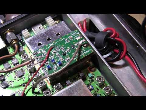 Yaesu 897D Panadapter - YouTube