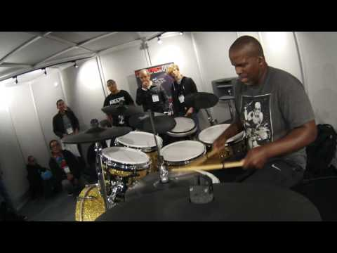 NAMM 2017 Will Kennedy Performs on Pearl Mimic Pro