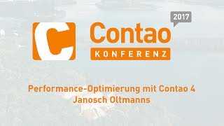 Performance Optimierung mit Contao 4 – Contao Konferenz 2017 #ck2017