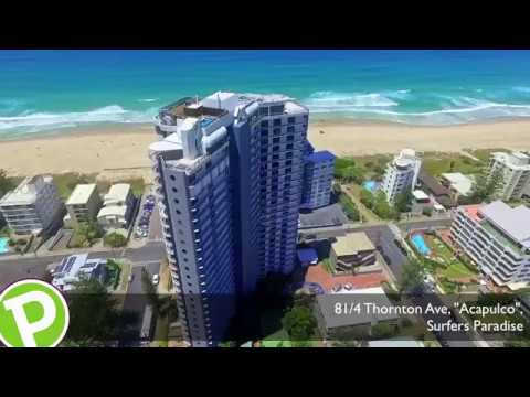 "81/4 Thornton St, ""Acapulco Resort"" Surfers Paradise Apartment For Sale"