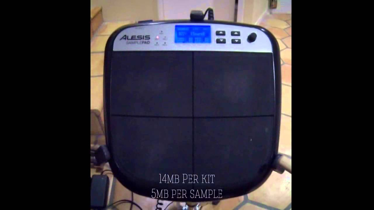 Alesis SamplePad Review - Things to like and things to hate - YouTube