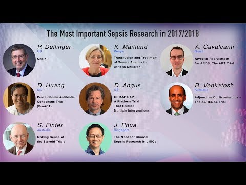 2nd WSC - The Most Important Sepsis Research in 2017/2018 (Session 17)