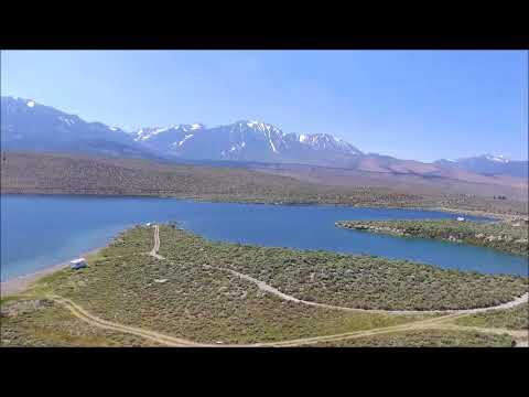 DJI Phantom 3 Fly Over GRANT LAKE CA, High Sierra ファントム3 スタンダード