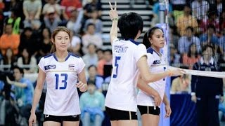 Asian Games 2014 Women Volleyball Thailand VS Kazakhstan : Sep 27th, 2014 : Full Match
