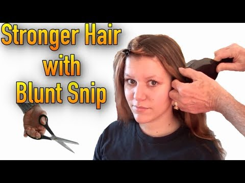 Cut Damaged Hair Corrective Cut For Healthy Strong Ha