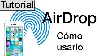 Como usar AirDrop en iOS 11 en tu  iPhone, iPad o Mac | Tutorial fácil en español