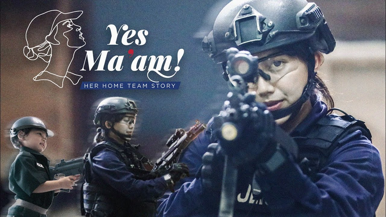 Insp Diana | Yes Ma'am - Her Home Team Story