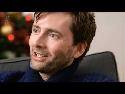 David Tennant in Very British Problems at Christmas