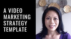 A Video Marketing Strategy Template