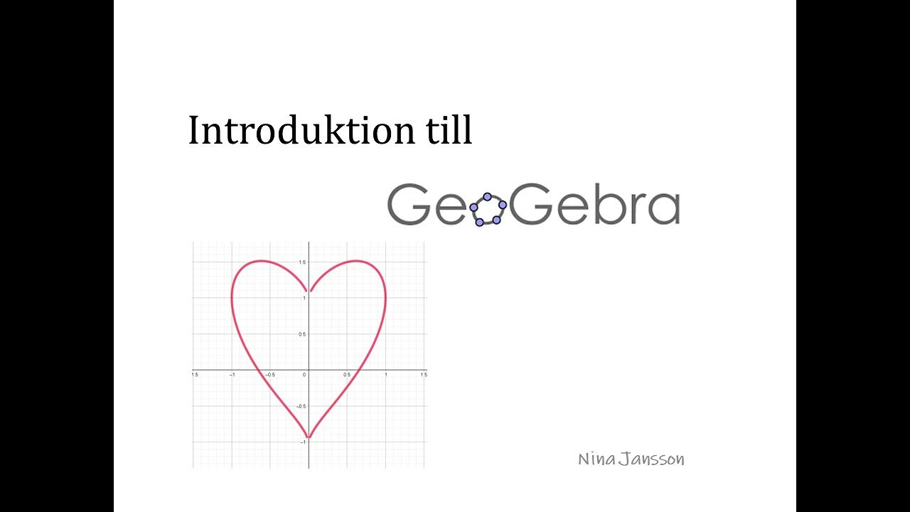 Introduktion till Geogebra