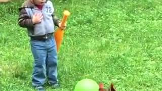 Chickens Vs Kids Must SEE !!!