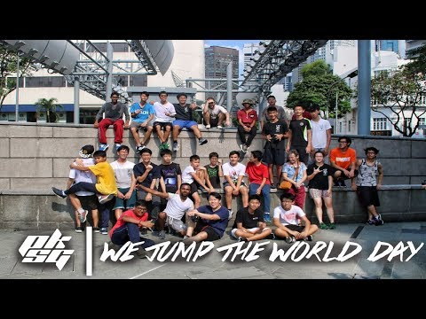 Parkour Singapore   April Monthly Jam X We Jump The World Day 2K18