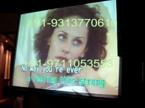 Best Karaoke Setup for Party in Delhi NCR at Embassy Playing Dancing Queen