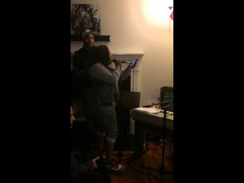 Amber Riley singing Who you Are by Jessie J