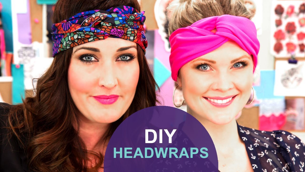 How To Make A Head Wrap The Diy Challenge On The Mom S View Youtube
