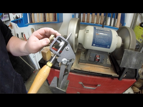 Sharpening turning tools woodturning youtube for Ou trouver des miroirs