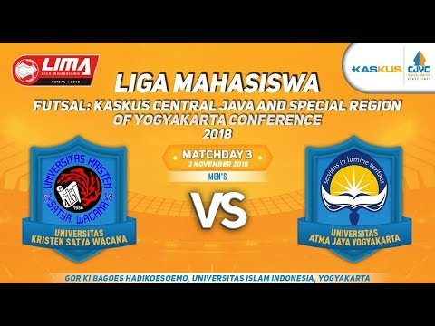 UKSW VS UAJY LIMA FUTSAL : KASKUS CENTRAL JAVA AND SPECIAL REGION OF YOGYAKARTA CONFERENCE 2018