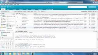 Zimbra 8 End User Demo