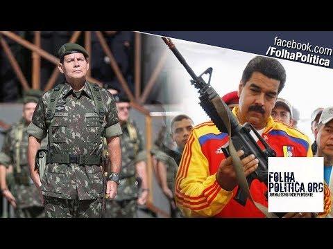General Mourão é intensamente aplaudido ao mandar recado: 'Jamais seremos uma Venezuela! As Forças..