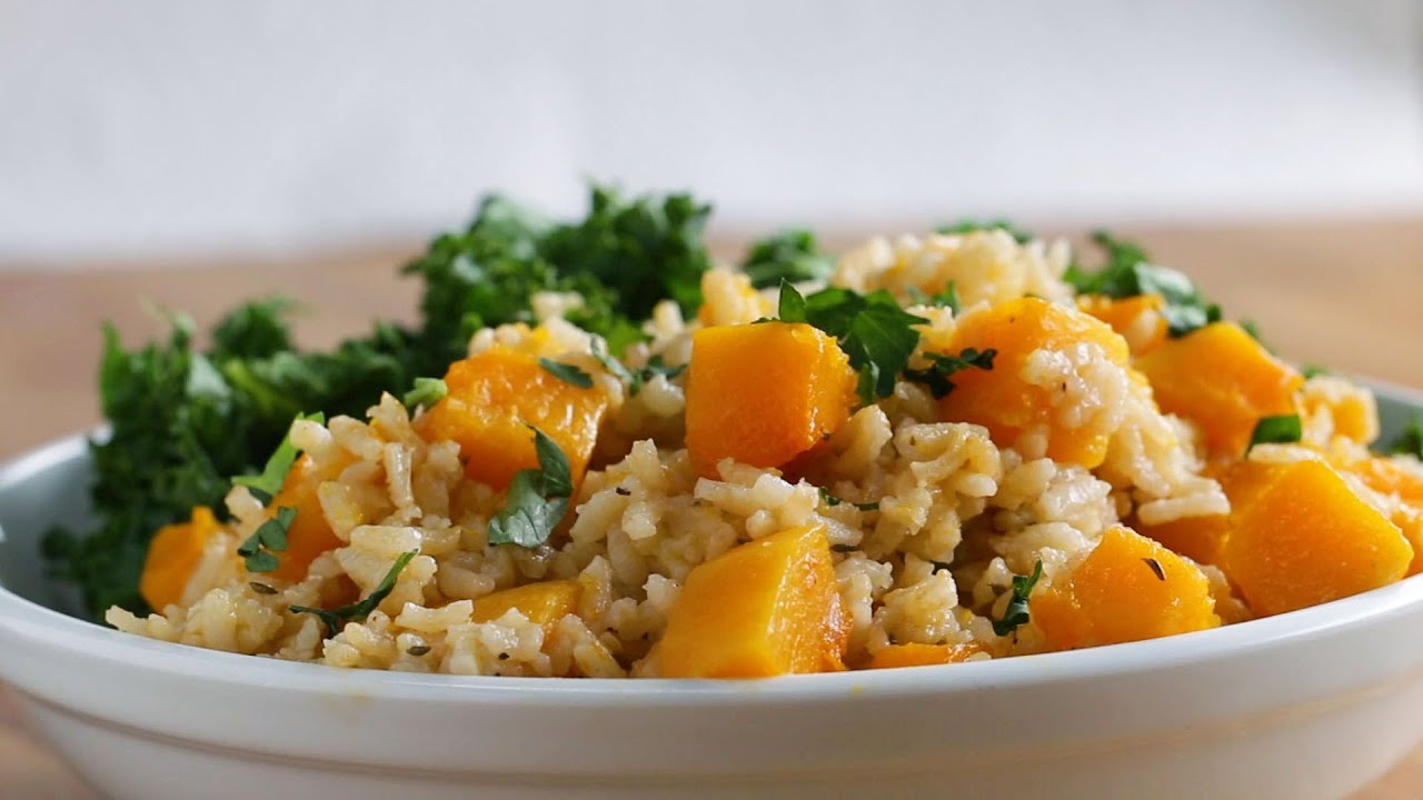 maxresdefault - One-Pot Butternut Squash Pilaf
