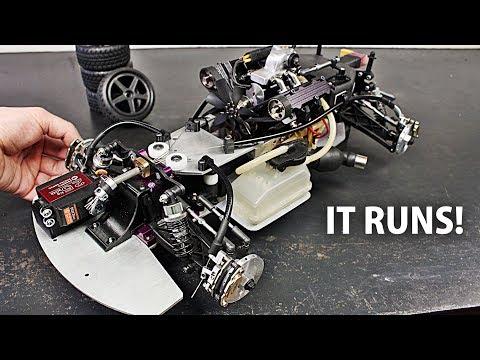 RC V4 Car Full Brake Disc System Test!