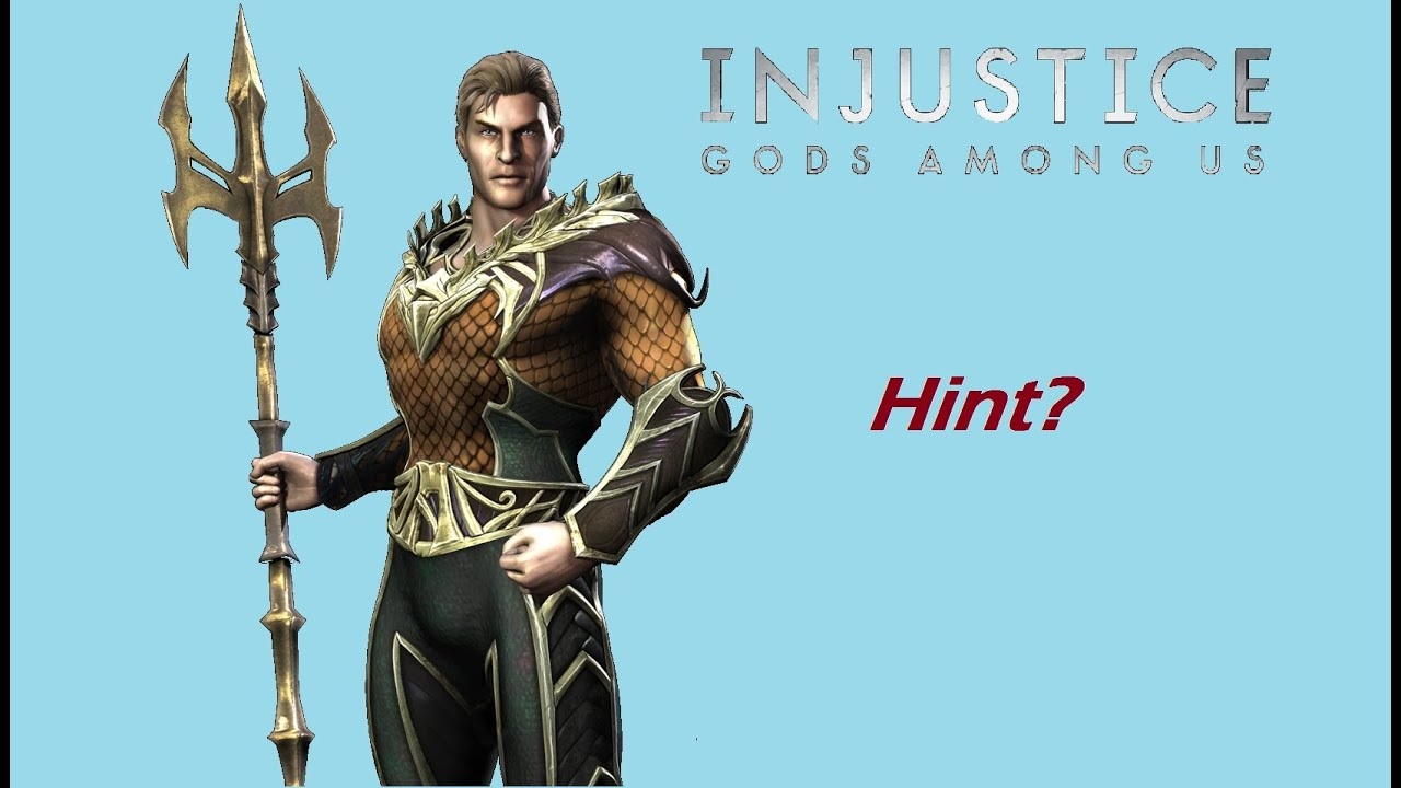 Injustice ios new aquaman challenge glitch youtube