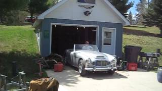 1960 Austin-Healey start up 2