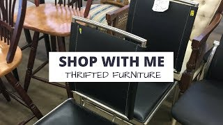Shop With Me: Thrift Store Furniture Shopping