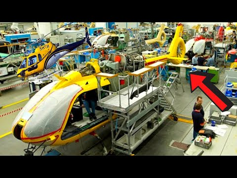 ▶️HELICOPTER PRODUCTION LINE🚁2021: Assembly plant process (Manufacturing) FACTORY🚀