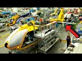 ▶️HELICOPTER PRODUCTION LINE🚁2021: Assembly plant process Manufacturing FACTORY🚀