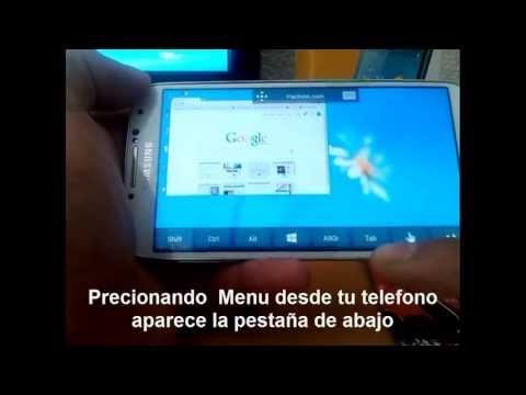 Conectar Microsoft Remote Desktop PC Y Android  (Win 8)