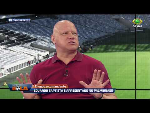 Ronaldo: Palmeiras Acertou Ao Contratar Eduardo Baptista