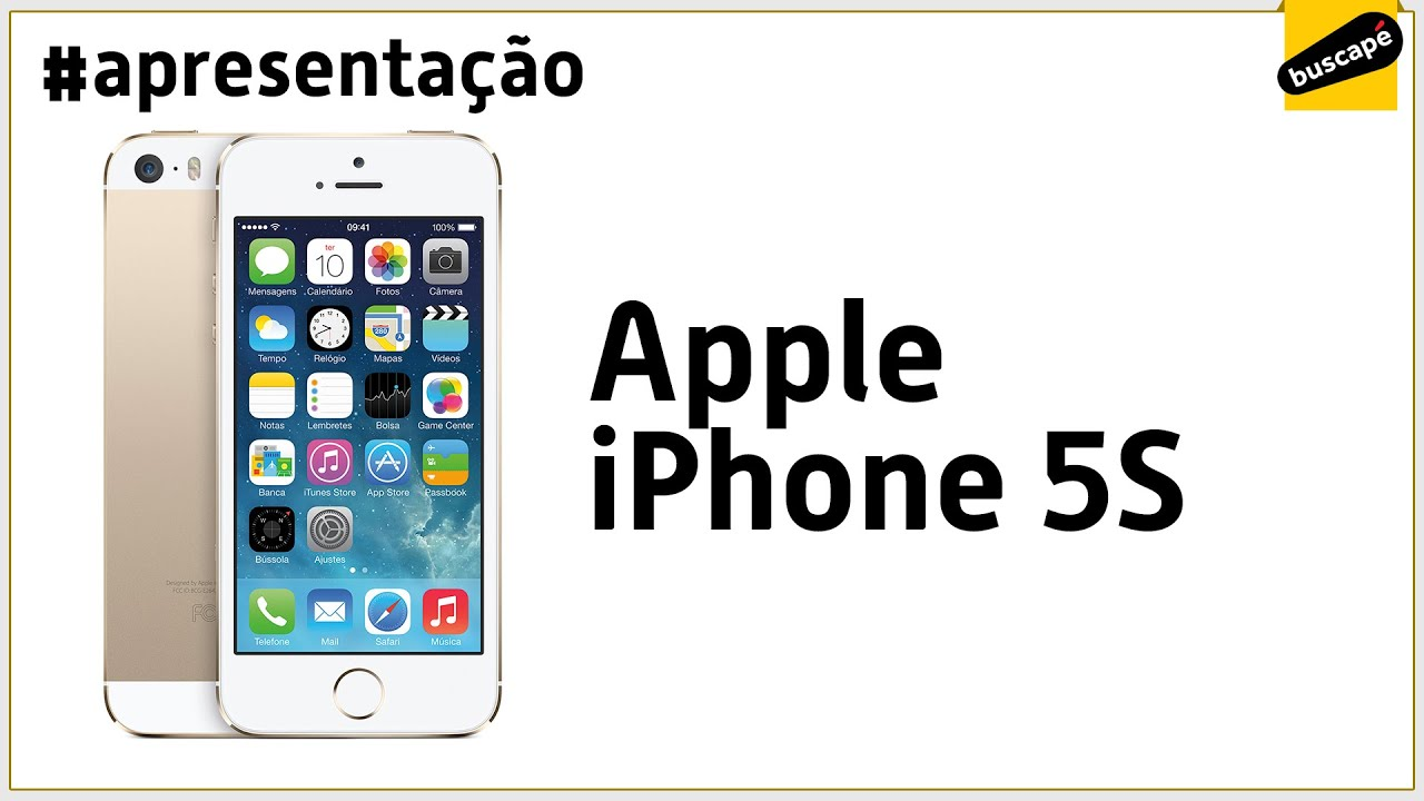 dd585f240 Apple iPhone 5S (32GB) - Apresentação - YouTube
