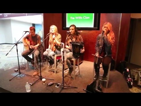 The Willis Clan | A Travelling Song | Nashville International Airport