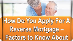 How to Apply for a Reverse Mortgage - Save Hundreds In Just Minutes!