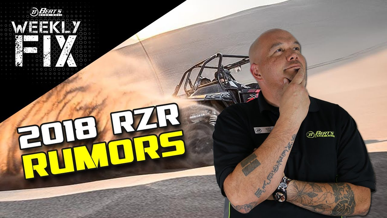 2018 Polaris RZR Rumors Are Building! New Maverick X3 Upgrade Kit Release  Date Announced! & More!