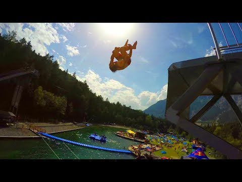 AREA 47 is Adrenaline Heaven in Austria! Action Sport Park