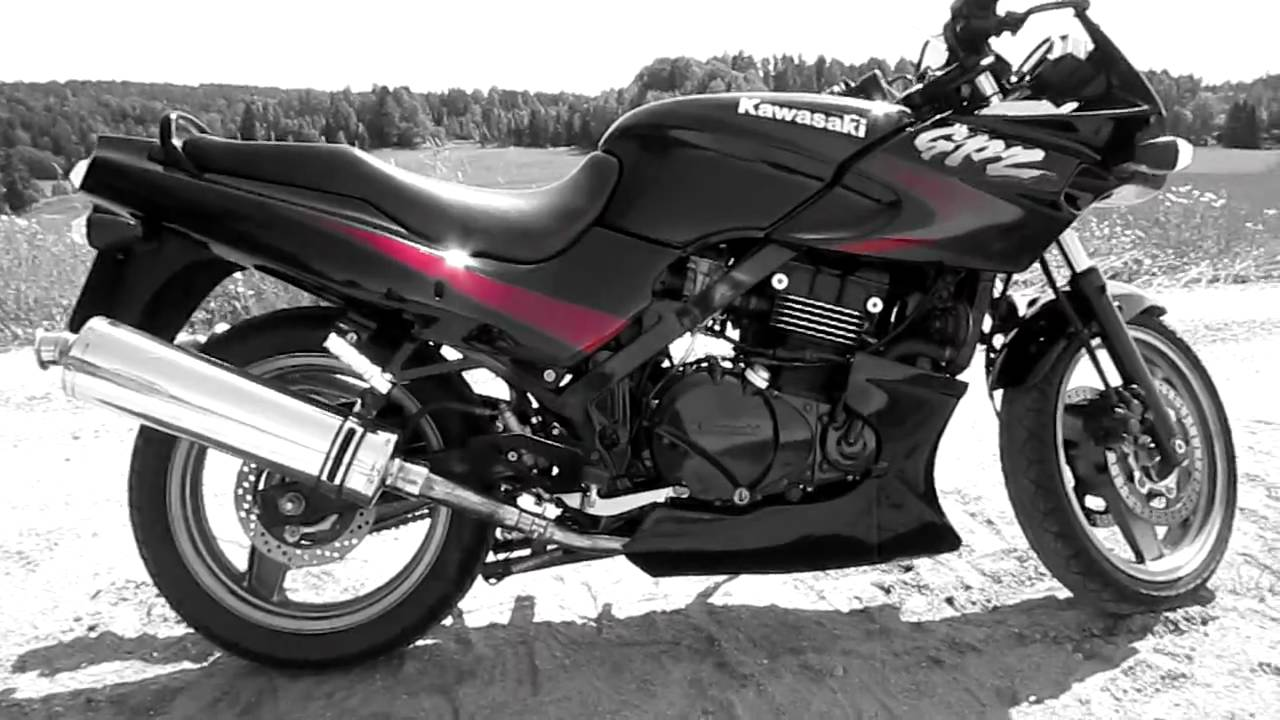 kawasaki gpz 500 ex 500 2001 youtube. Black Bedroom Furniture Sets. Home Design Ideas
