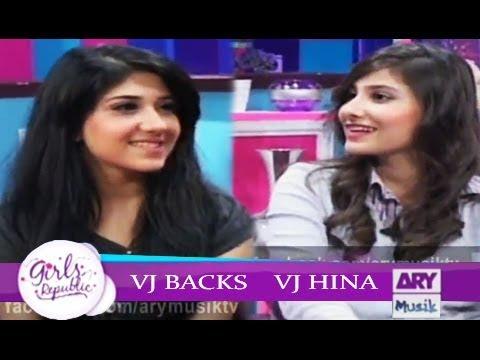 Girls Republic | VJ Hina VJ Backs | ARY Musik