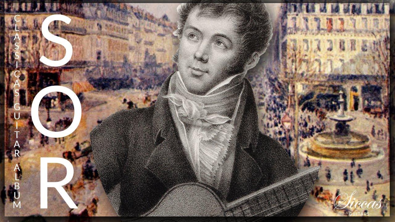 Download The Best of Fernando Sor - Classical Guitar Compilation