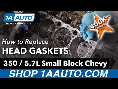 How to Replace Head Gaskets on a 350 5.7L Small Block Chevy Engine
