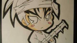 How to Draw Chibi Renji